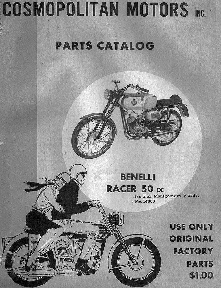 Riverside 50cc Sport Bike Owners Guide and Parts Catalog
